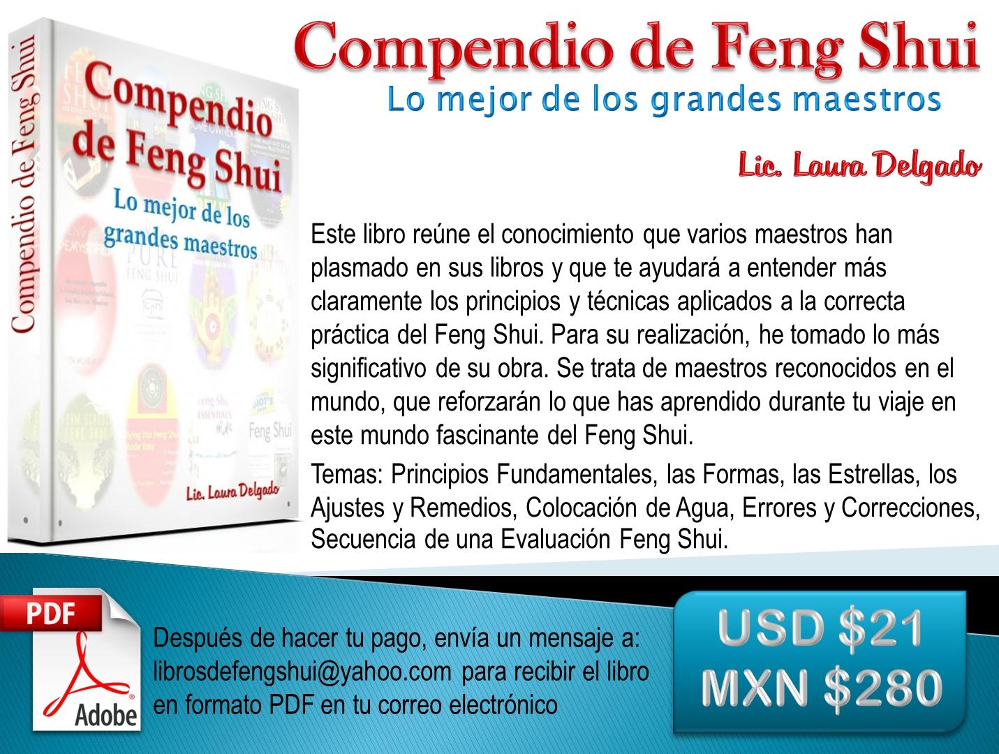Libro compendio de feng shui lo mejor de los grandes - Libros feng shui ...