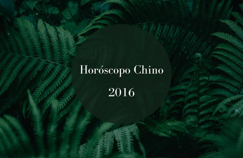 Horóscopo Chino – Junio 2016