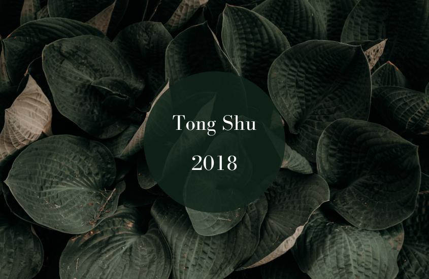 Tong Shu Anual 2018 para Corte de Cabello y Uñas