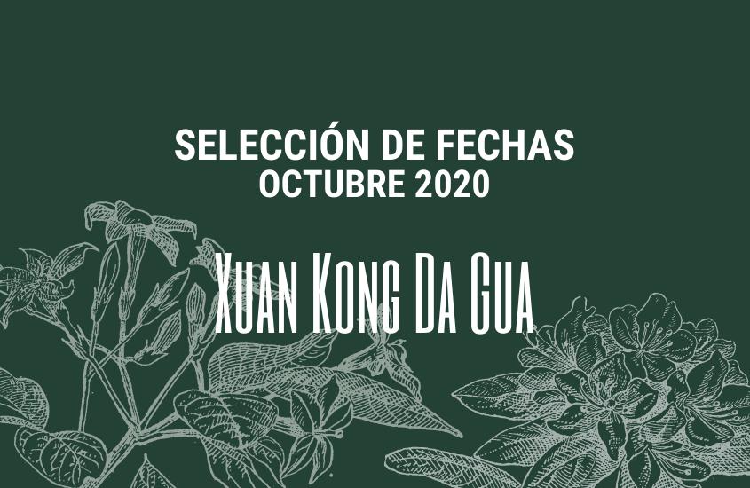 Selección de Fechas Octubre 2020