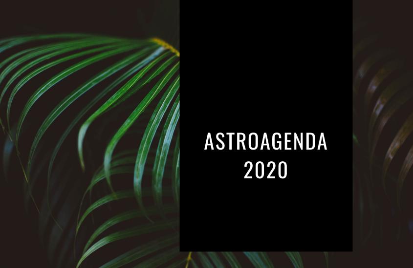 Astro Agenda 2020