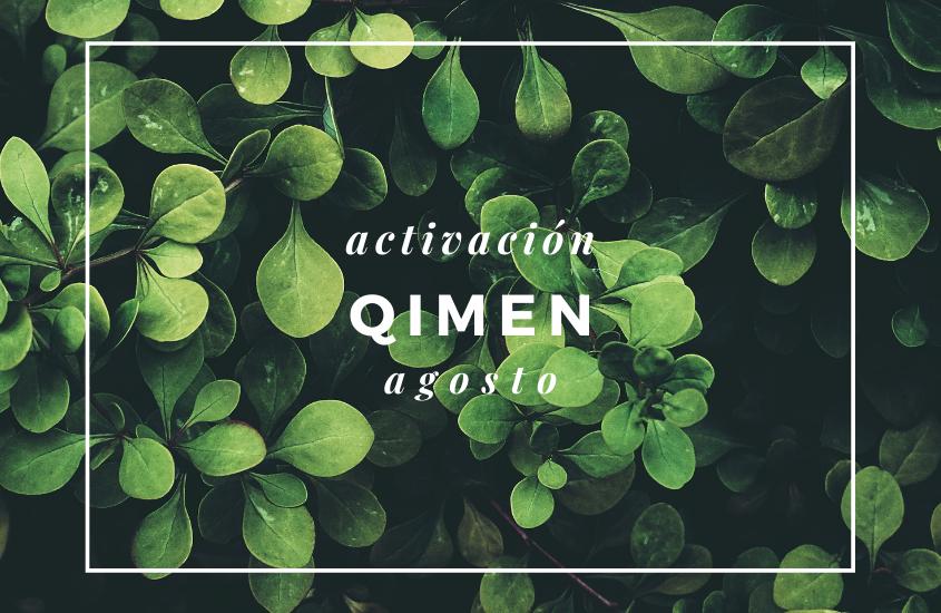 Activaciones QiMen Agosto 2021
