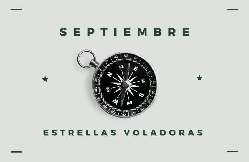 Estrellas Voladoras Septiembre 2021